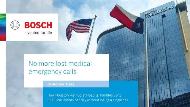 No more lost medical emergency calls | Bosch Security and